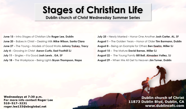 Stages of Christian Flyer